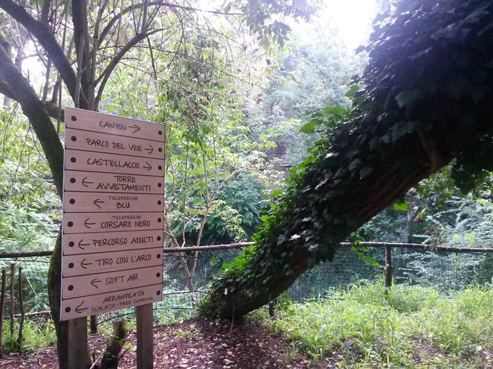 Domenica il Parco resterà chiuso Domenica il Parco resterà chiuso Ferragosto al Parco Avventura Bushi 01