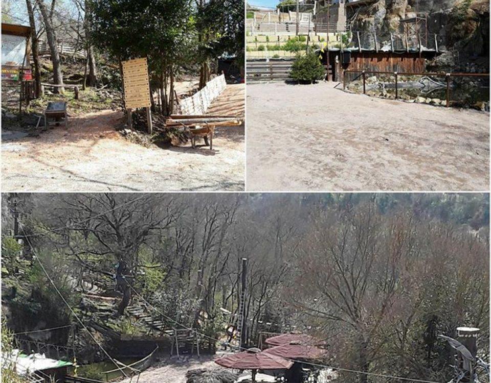 Ultimi preparativi per la riapertura domenica 19 marzo del parco Bushi Adventure… 17190340 1901563786756747 4413429214132007280 n 960x750