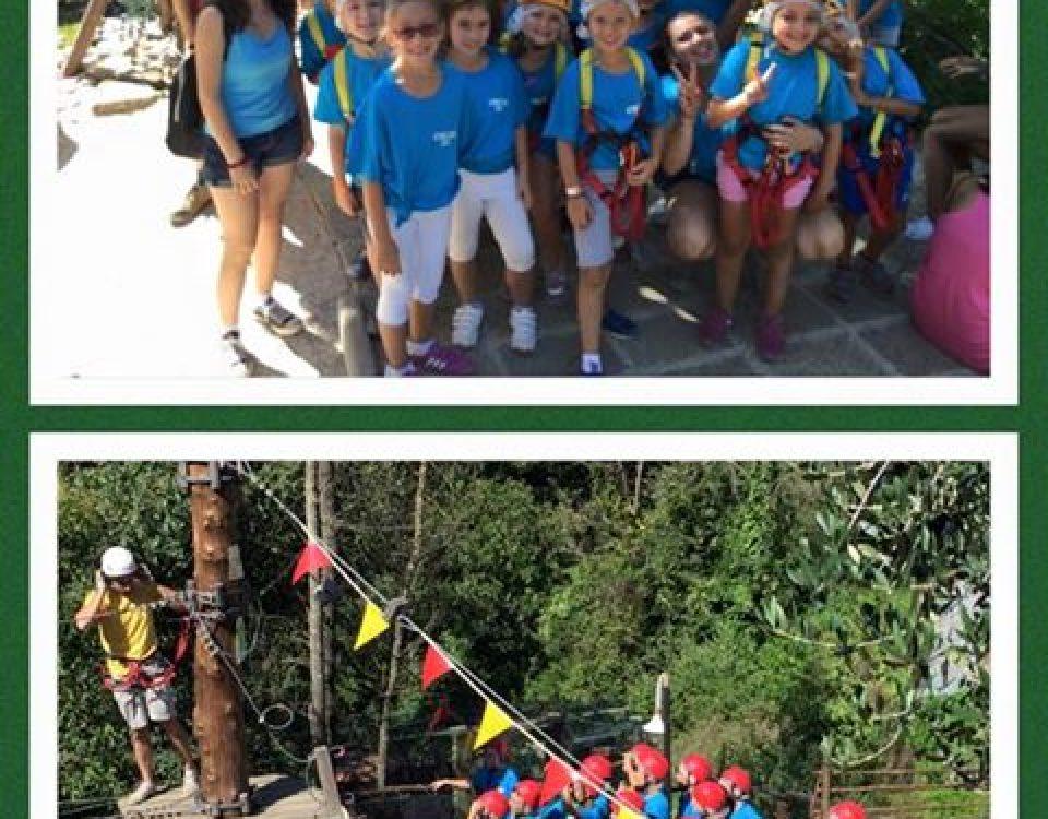 Ma che bei gruppi questa mattina al Villaggio Bushi Adventures!!! Buona giornata… 11796321 1642671972645931 8170586304004853381 n 960x750