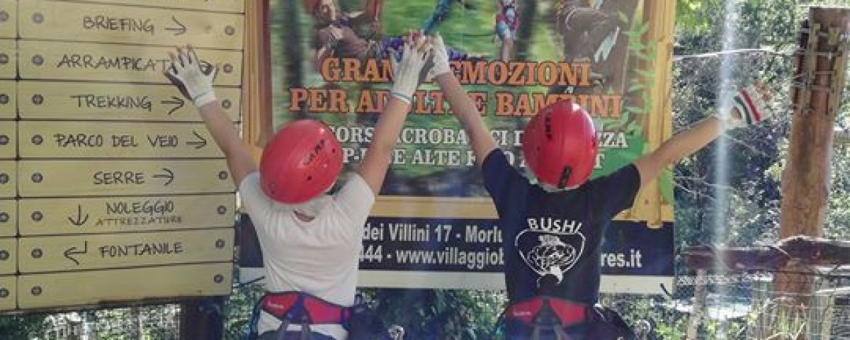 Villaggio Bushi Adventures is feeling amazing at Villaggio Bushi Adventures. 32896099 2120137871566003 8830297918415044608 o 1200x480