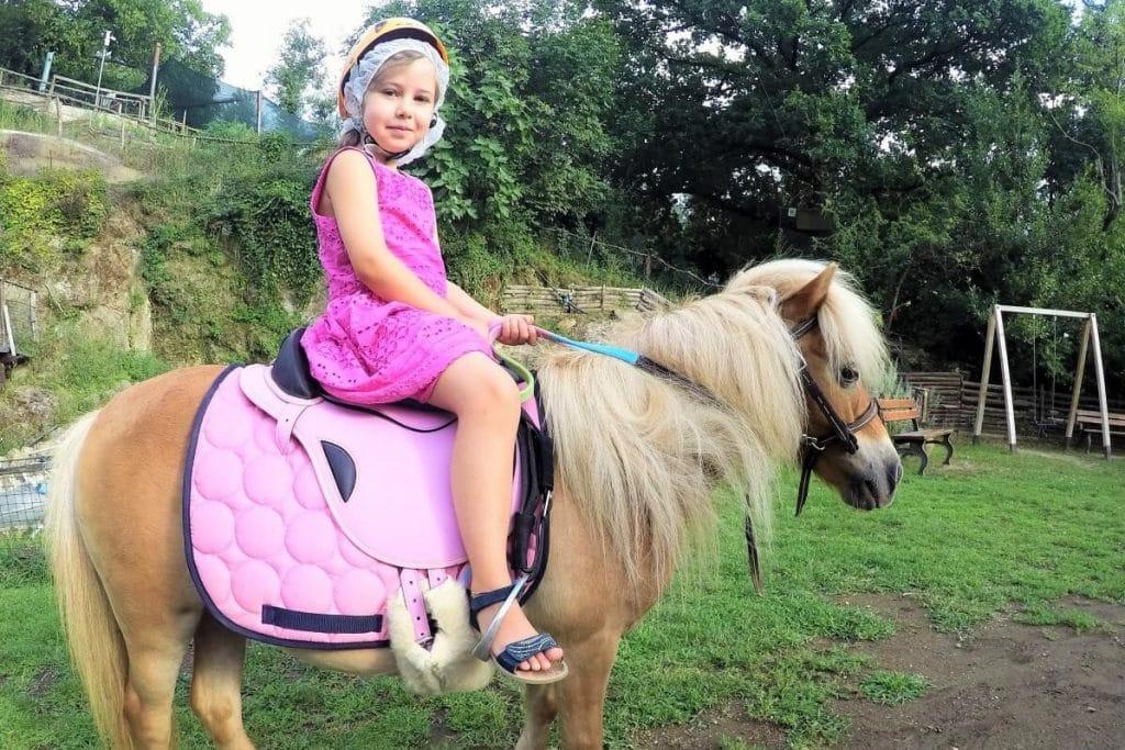 Passeggiate con pony
